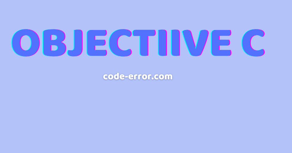 objectivec Code Directory