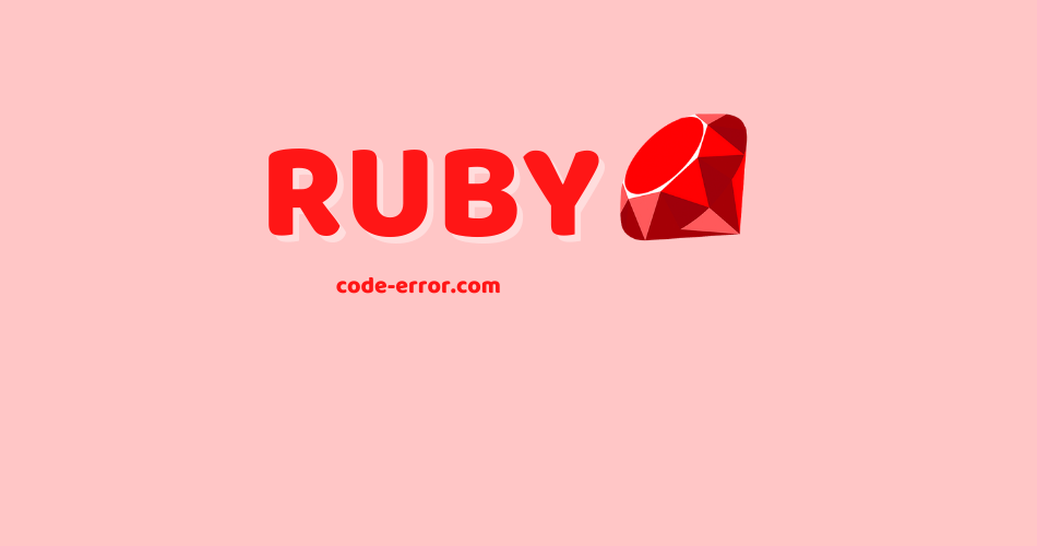 ruby Code Directory